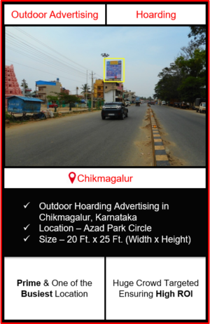 Outdoor hoarding advertising in Chikmagalur, outdoor advertising in Chikmagalur, hoarding advertising in Chikmagalur, Chikmagalur outdoor ads agency, advertising agency in Chikmagalur