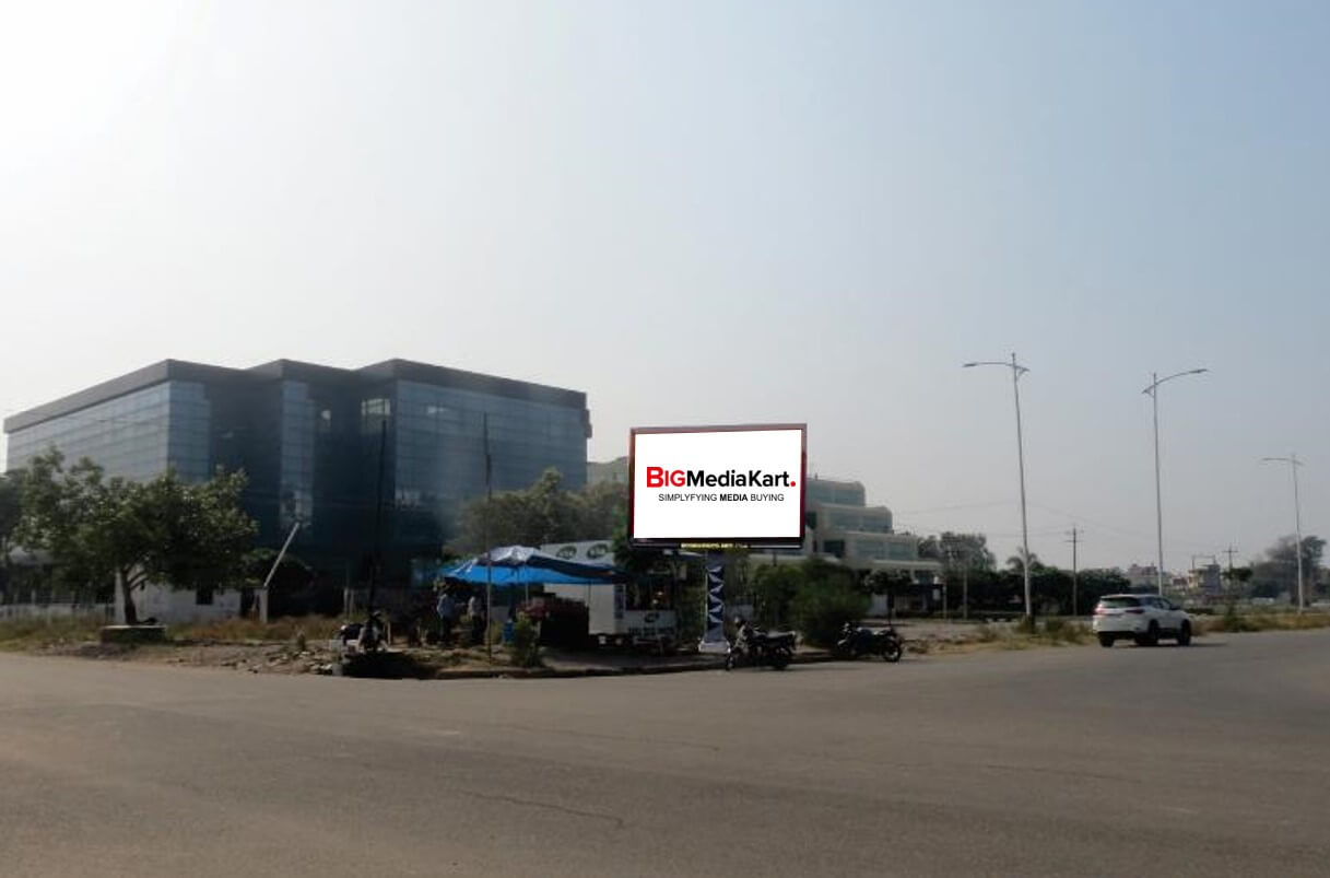 Outdoor Unipole Branding at Infosys Gate No.1, IT Park, Chandigarh