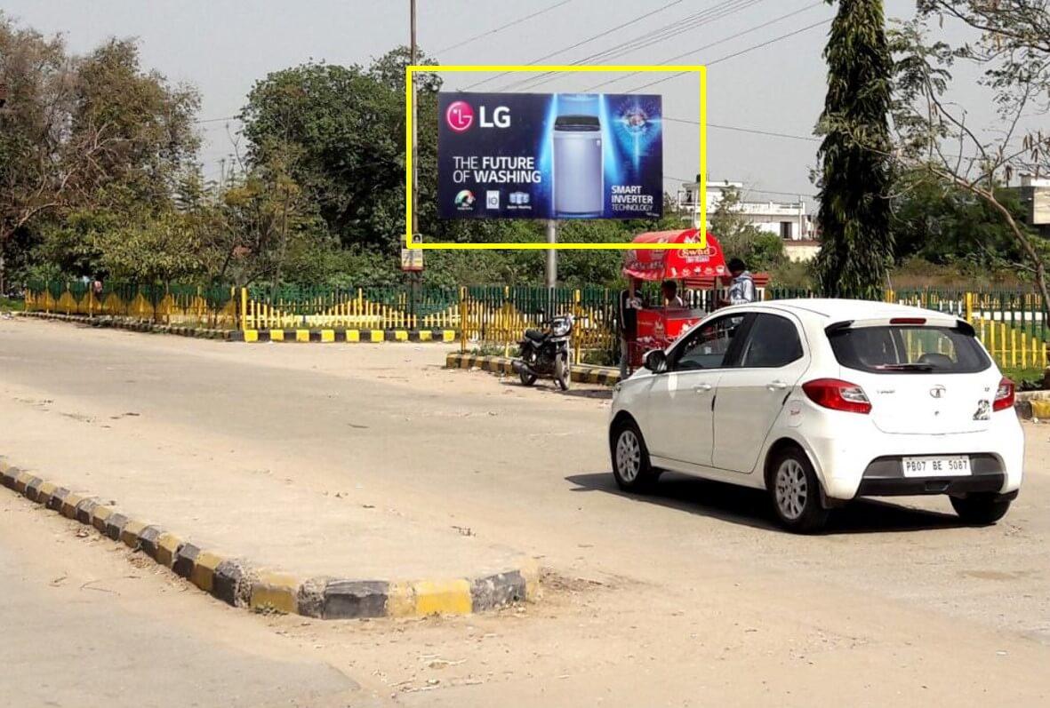 Option No.1 Hoarding Branding at Circulating Area, Railway Station, Hoshiarpur