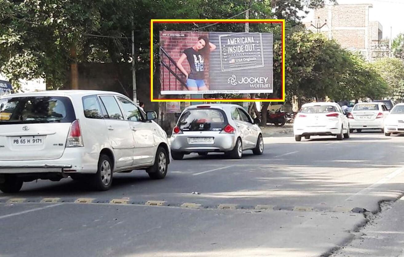 Outdoor Hoarding Branding At Mall Road, Hoshiarpur