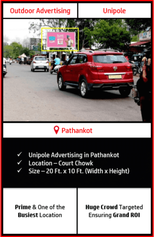 Outdoor hoarding advertising in Pathankot, outdoor advertising in Pathankot, hoarding advertising in Pathankot, Pathankot outdoor ads agency, advertising agency in Pathankot