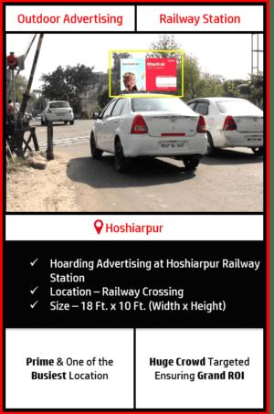 outdoor advertising in Hoshiarpur, railway station advertising in Hoshiarpur, outdoor advertising agency in Hoshiarpur